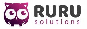 Ruru Solutions logo - an owl
