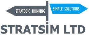 The organisation logo for Stratsim - a LINQ Partner