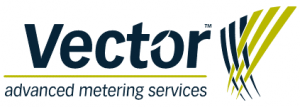 The organisation logo for Vector Advanced Metering Services