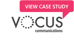 Organisation logo for Vocus with link to their case study
